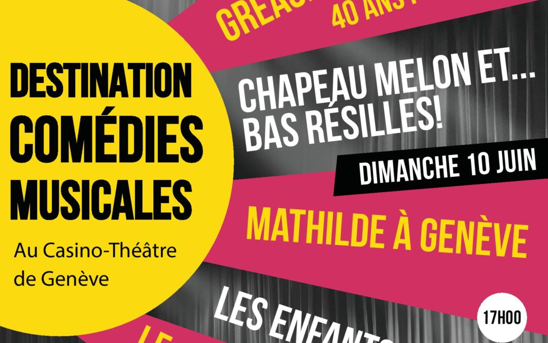 Destination Comédies Musicales 2018