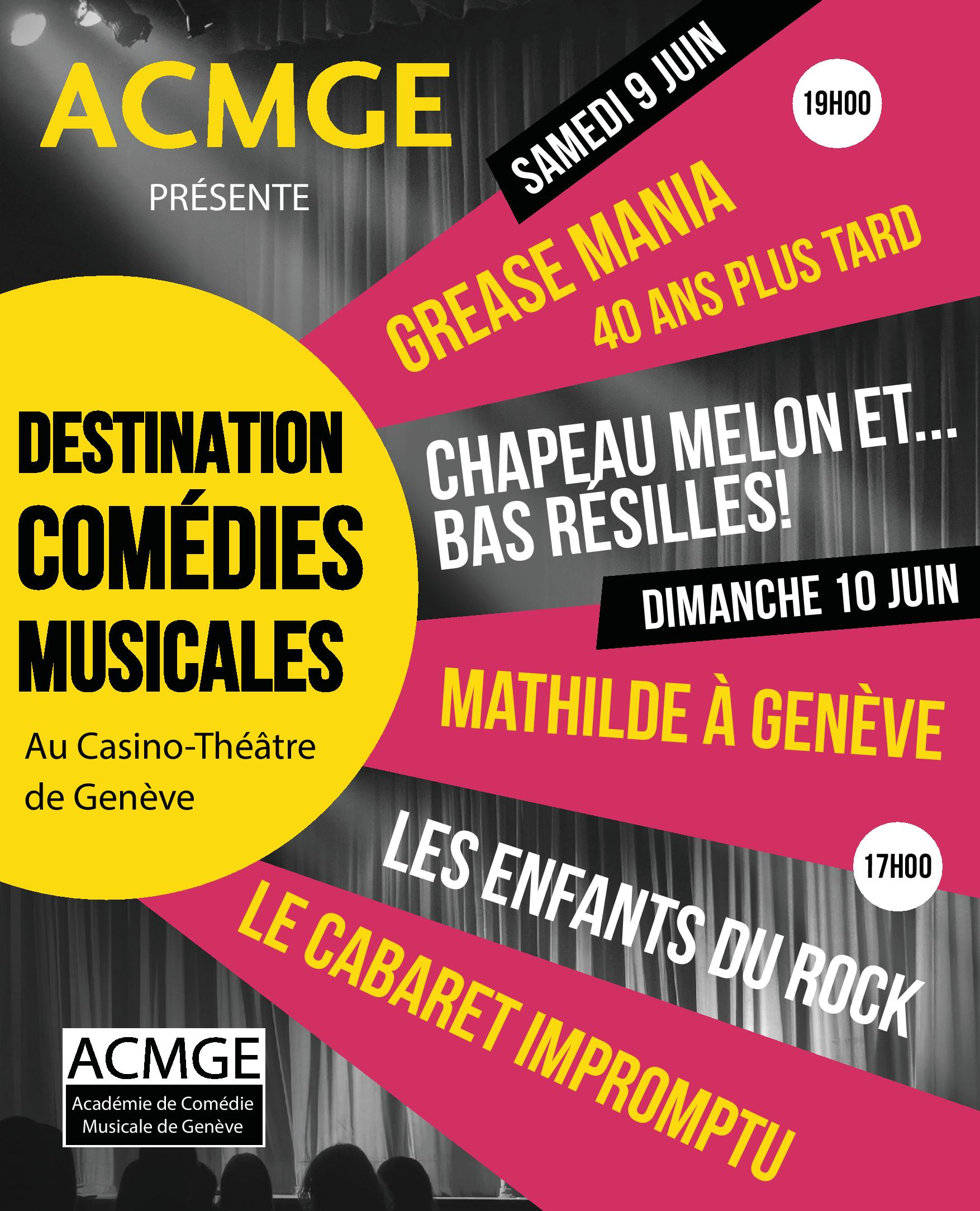 <center>Destination Comédies Musicales 2018</center>